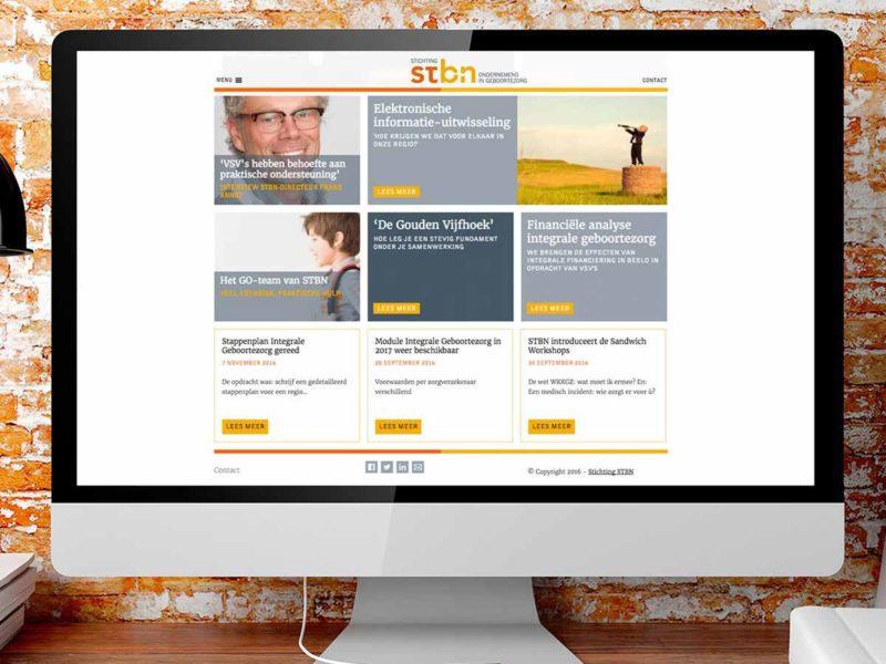 website nieuwsbrief - ontwerpbureau diepzicht nijmegen