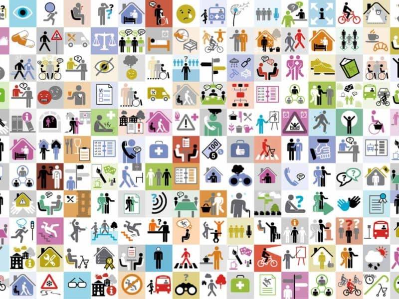 ontwerp pictogrammen radboud umc - ontwerpbureau Diepzicht Nijmegen