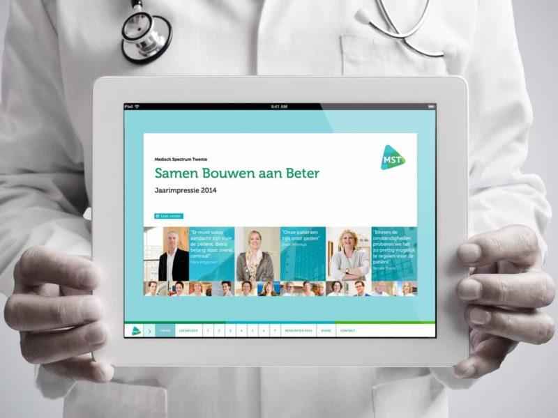 ontwerp Online jaarverslag MST - bureau Diepzicht Nijmegen