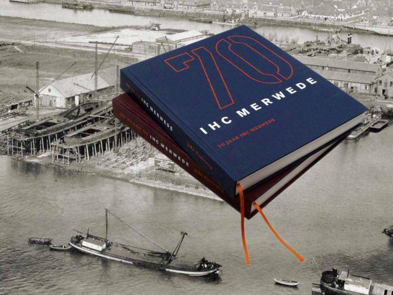 grafisch ontwerper boek IHC Merwede - ontwerpbureau diepzicht nijmegen