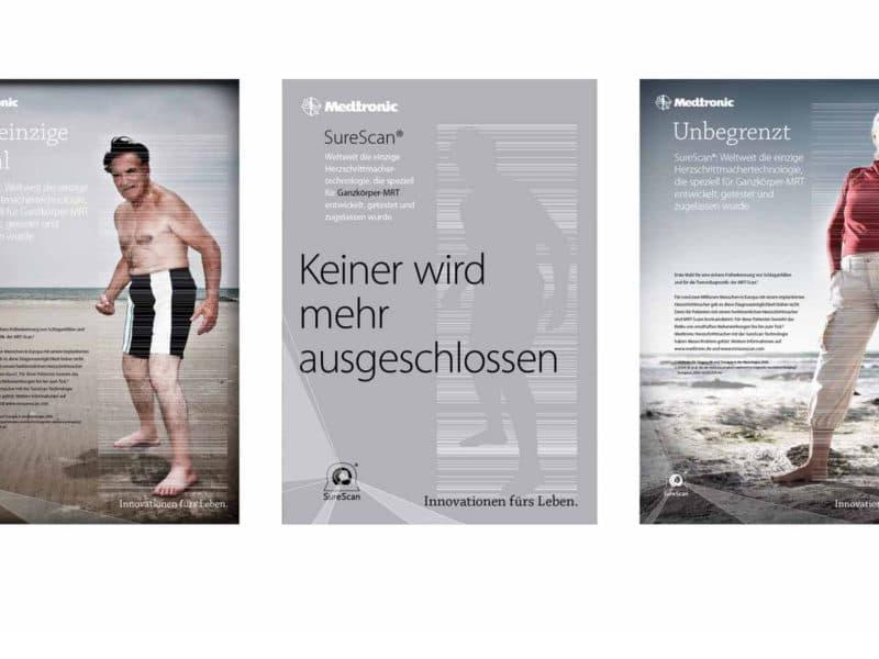 productcampagne medtronic - ontwerpbureau diepzicht nijmegen