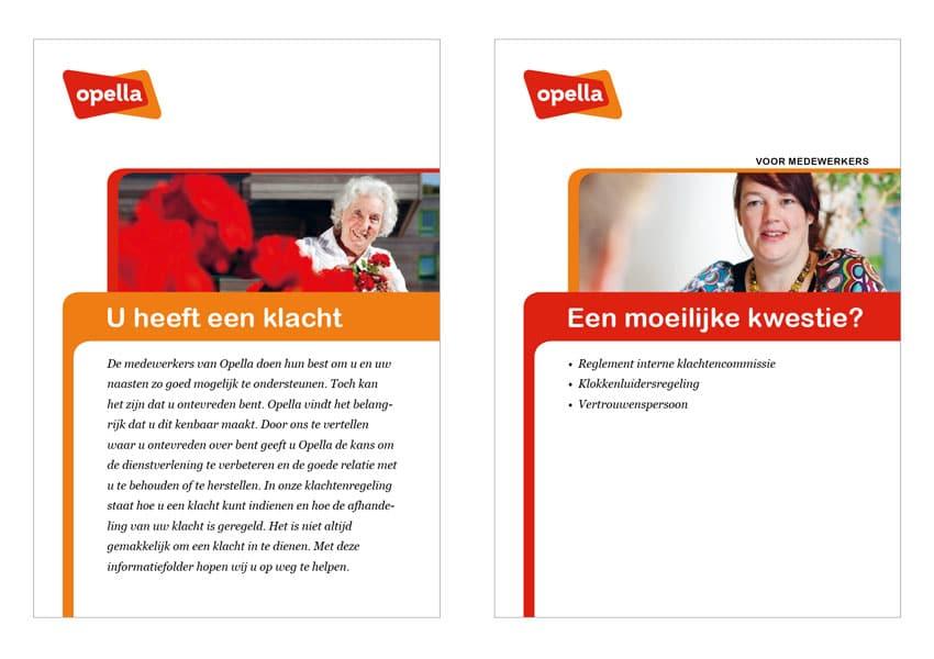 huisstijl Opella ontwerpbureau Diepzicht Nijmegen